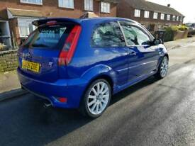 Fiesta ST150 performance blue