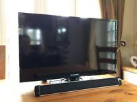 Full HD 1080p TV and Soundbar