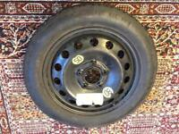 BMW E46 Spare Wheel with tyre