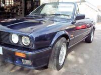 BMW E30 CONVERTIBLE 320i SWITCHABLE AUTO 07956499511