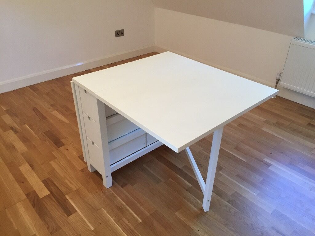 Norden Gateleg Table Ikea Norden Gateleg Table White In Brentford London Gumtree
