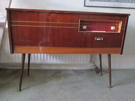Vintage 1960 radiogram made by Phillips