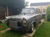 Ford popular 1961 100e hotrod turbo charged all road legal popular anglia swap rs xr etc