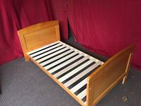 WINNIE THE POO PINE TODLERS BED FRAME,CAN DELIVER