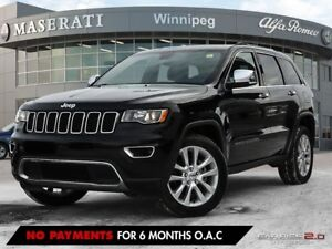 2017 Jeep Grand Cherokee LIMITED: ACCIDENT FREE, SUNROOF, HEATED