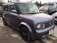 Nissan Cubic 1.4 5dr£4,995 p/x welcome FREE WARRANTY, NEW MOT