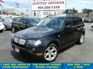 2009 BMW X3 xDrive30i Leather/Pano Roof/Alloys