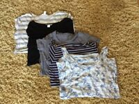 Maternity tops size 10/12