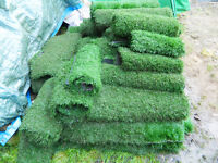 25 sq. m + (aprox) commercial grade artificial turf (used once)