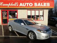 2008 Hyundai Tiburon GS SUNROOF!! 5SPD!! AIR!! CRUISE!! POWER WI