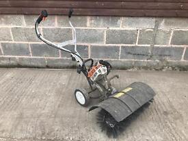 Stihl MM55 yard boss road sweeper