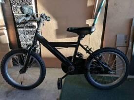 Small Kids Black Bike