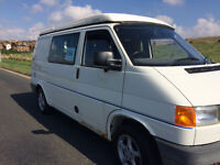 VW T4 campervan with LPG conversion and Reimo roof