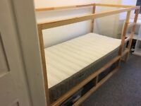 Ikea convertable single bed FREE