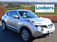 Nissan Juke TEKNA DCI (silver) 2016-04-27