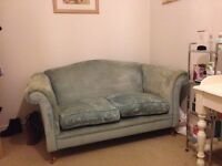 Laura Ashley, Large 2 Seater Duck Egg Blue Glouester sofa