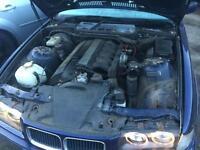 BMW E36 E38 E39 E34 E46 M52B28 ENGINE FOR BREAKING