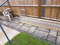 Wood 3mx12 2X2 & 2mx16 cladding