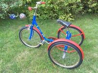 1980 TRICYCLE 3 WHEEL BIKE KIDS PASHLEY PICKLE