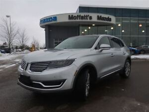 2016 Lincoln MKX RESERVE AWD, LEATHER, PANO ROOF, GPS/NAV