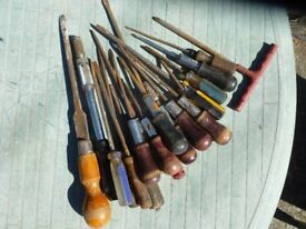 a selection of screwdrivers