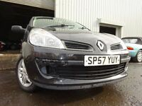 💥57 RENAULT CLIO EXTREME 1.2,MOT AUG 017,1 OWNER FROM NEW,PART HISTORY,2 KEYS,VERY RELIABLE CAR💥