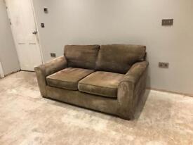 Cappuccino Coloured 2 Seater Next Sofa