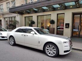 Rolls Royce Ghost Hire | Rolls Royce Ghost Series 2 Hire | Wedding Car Hire | Rolls Royce Phantom