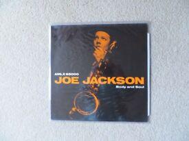 "Joe Jackson original vinyl LP "" Body and Soul"""