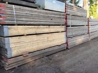 13ft Used Scaffold Boards 3.9m x 225mm x 38mm