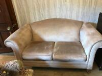 NOW SOLD Laura Ashley Gloucester Villandry Sable Two Seater Sofa
