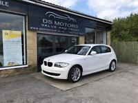 BMW 1 SERIES / LOW MILES / WHITE / £30 ROAD TAX