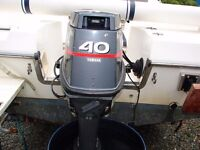 Yamaha outboard with power trim and tilt ,long shaft