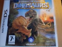 Nintendo ds game Combat of Giants Dinosours