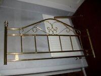 metal bed head
