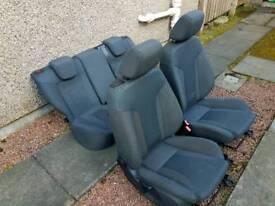 Ford Fiesta Mk7 Zetec S Seats
