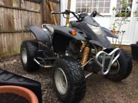 3X Quad bike QUADZILLA ROAD LEGAL 300cc 2006 CAN DELIVER ANYWHERE PART EX OFFERS EXT WELCOME HONDA