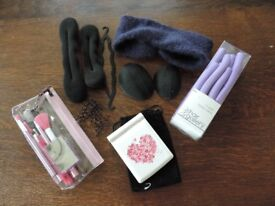 A Selection of Hair And Make-up Accessories