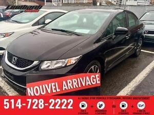 Honda Civic EX 4 portes CVT