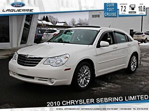 2010 Chrysler Sebring **LIMITED*AUTOMAITQUE*CUIR*TOIT*CRUISE*A/C