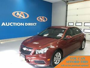 2012 Chevrolet Cruze LT Turbo, GREAT ON GAS, FINANCE NOW!!