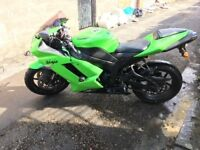 Iconic Kawasaki Ninja ZX6R, FSH, low mileage, tax and MOT til Feb 18