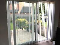2 sets of vertical blinds, good condition
