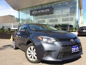 2015 Toyota Corolla 2owners Btooth BUcam