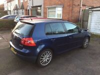 VOLKSWAGEN GOLF MK5 GT TDI SPORT 2008 140BHP. SALVAGE, DAMAGED, REPAIRABLE. (NOT A3, 520D, GTI)