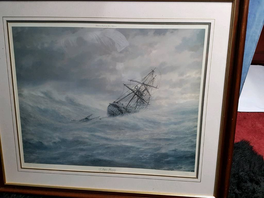 John chancellor printin Brixham, DevonGumtree - John chancellor print limited edition approx 3ft x 2.8ft dark wood frame collect from Brixham no offers thank you