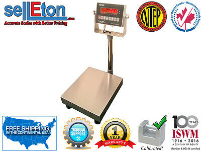 Ntep Legal For Trade Bench Scale 12 X 14 With 100 X 0.02 Lb Deli Shipping