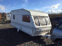 Abi trophy 1996 model 4 berth shower oven 3 way fridge oven hob grill good 17 ft lengh light wait
