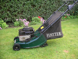 Hayter Harrier 41 Autodrive petrol lawnmower