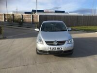 VW FOX 1.2 3DR SERVICE HISTORY NEW MOT